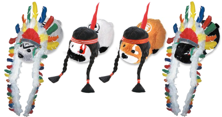 Kung Zhu Pet Thanksgiving Indians