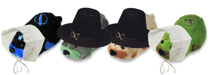 Kung Zhu Pet Thanksgiving Pilgrims